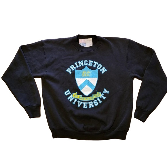 737ca48150f Fade In Other - Vtg 80s 90s Princeton University Sweatshirt Size L